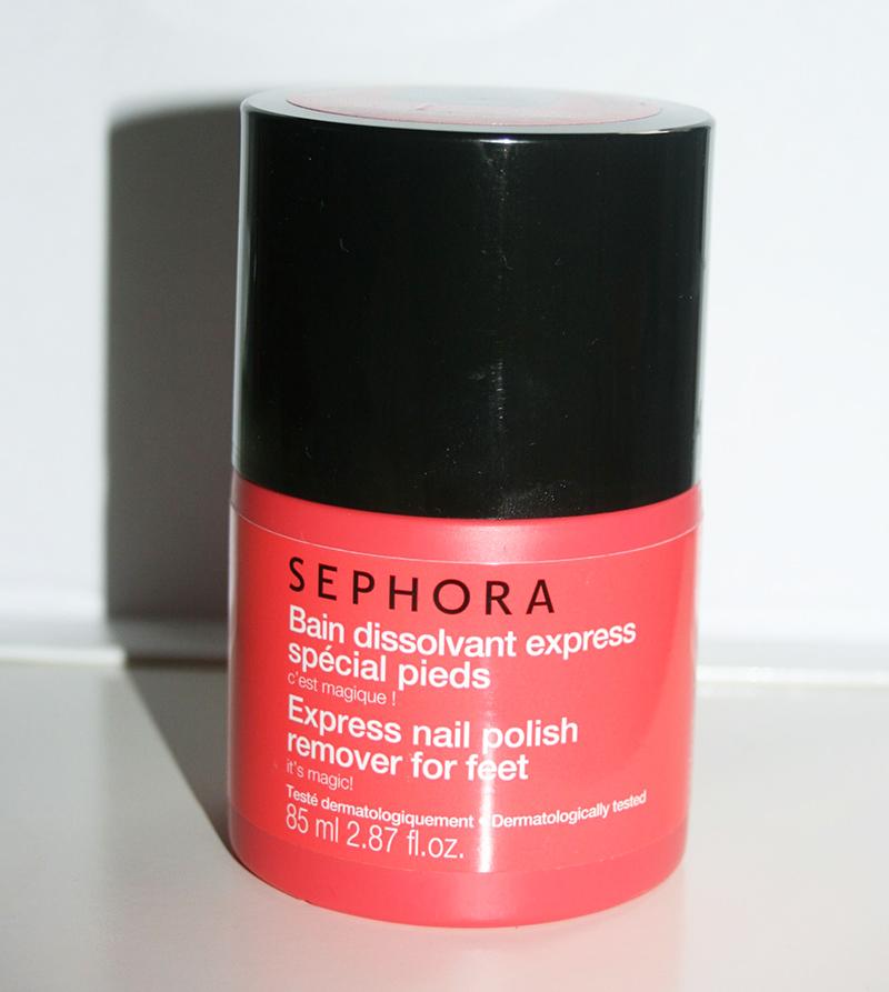 bain dissolvant express spécial pieds sephora