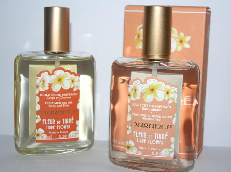 huile sèche et parfum d'été Durance