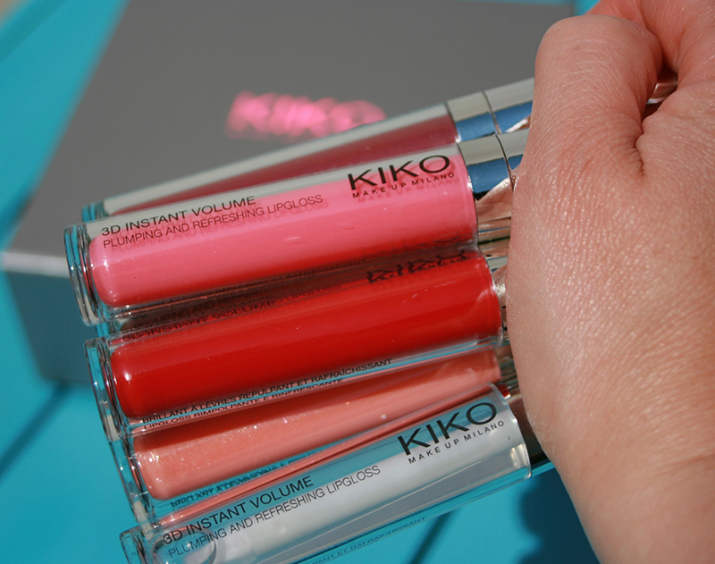 On donne du volume aux lèvres avec le gloss 3D de Kiko !
