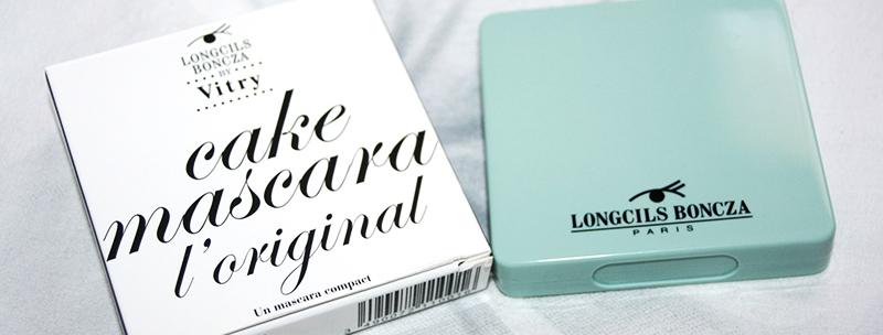 Curiosité cosmétique : le mascara-cake Longscils Boncza