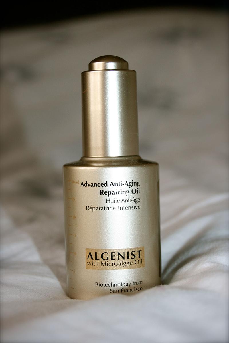 huile anti-âge Algenist