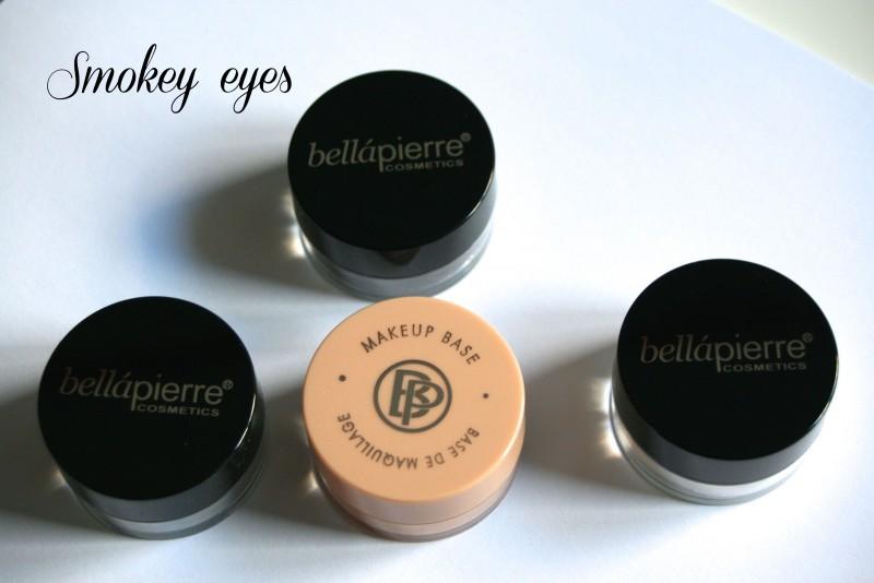Découverte du kit «Smokey eyes» de Bellapierre