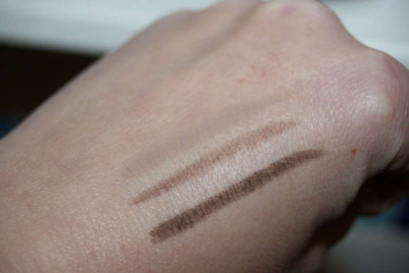 swatch palette sourcils couleur caramel