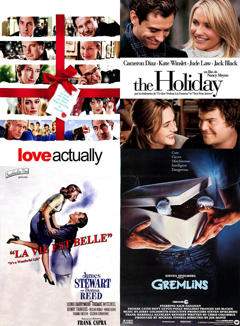 4 films de Noël