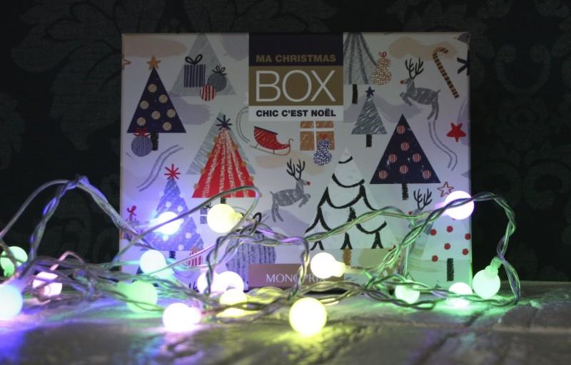 Christmas box monoprix