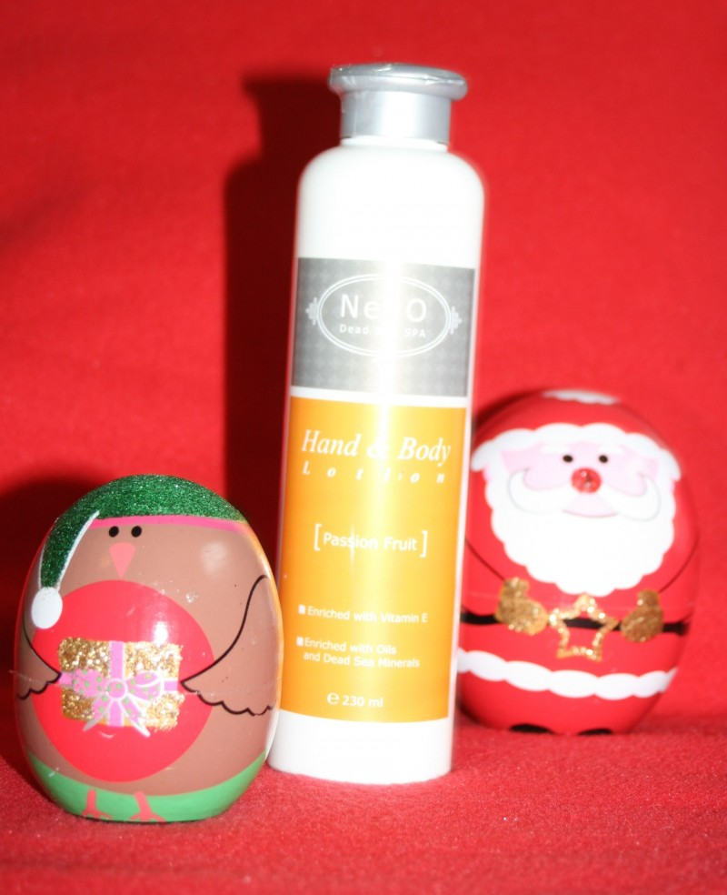NeVo hand and body lotion