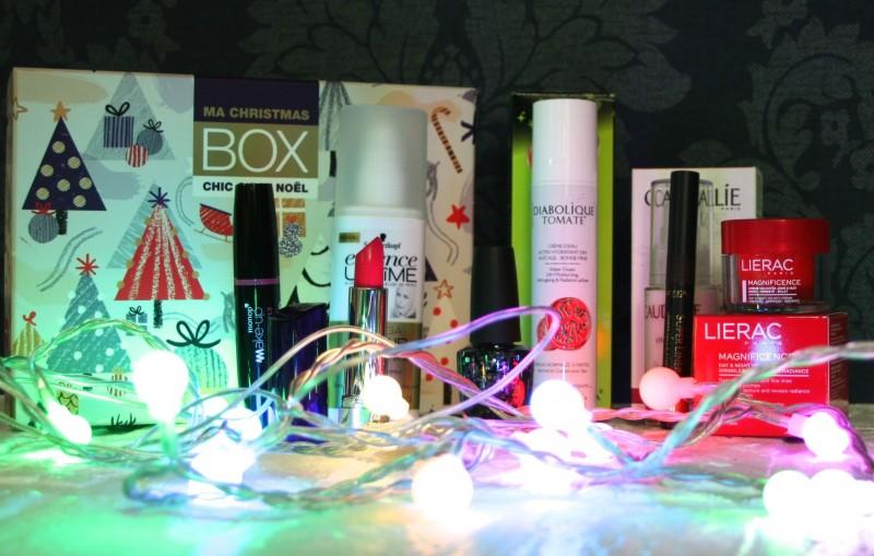 contenu Christmas box monoprix