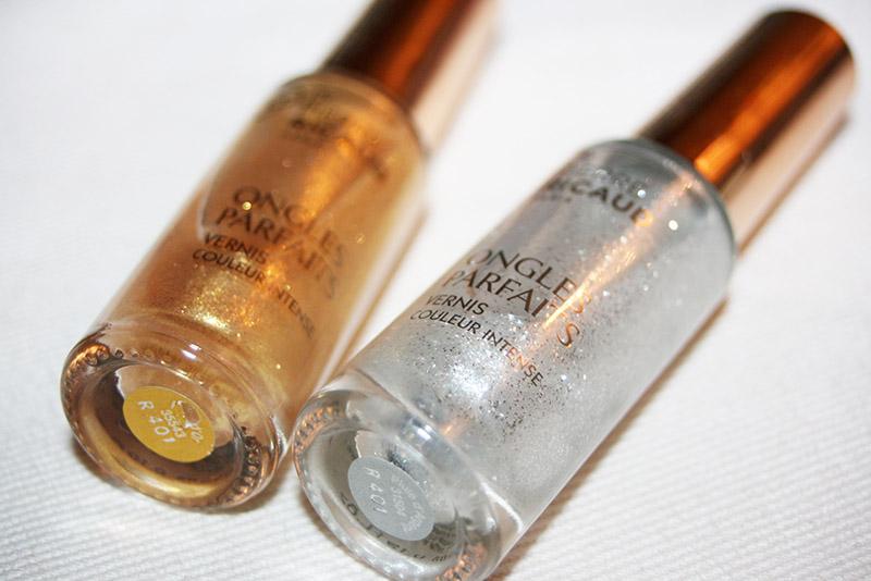 détails vernis pluie d'or piere ricaud