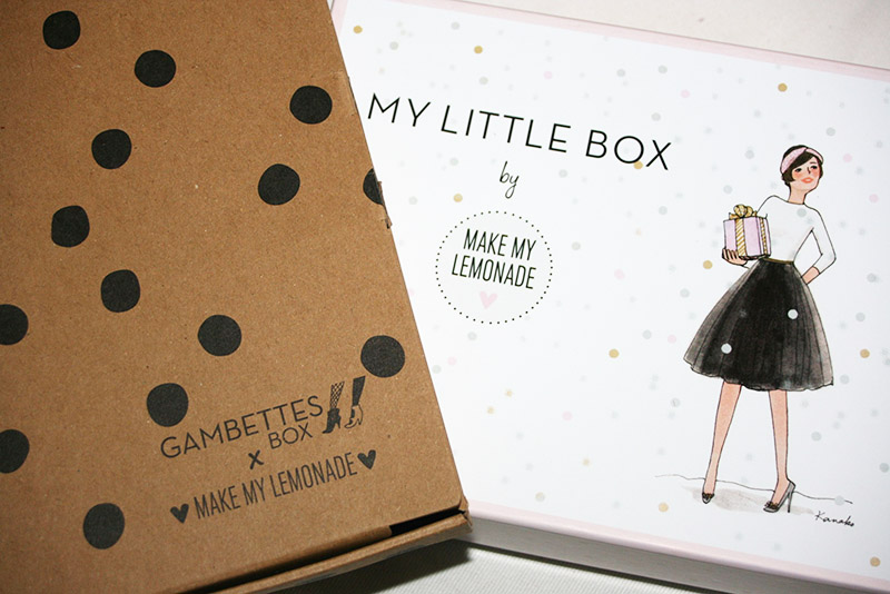 mylittlebox gambettes box makemylemonade
