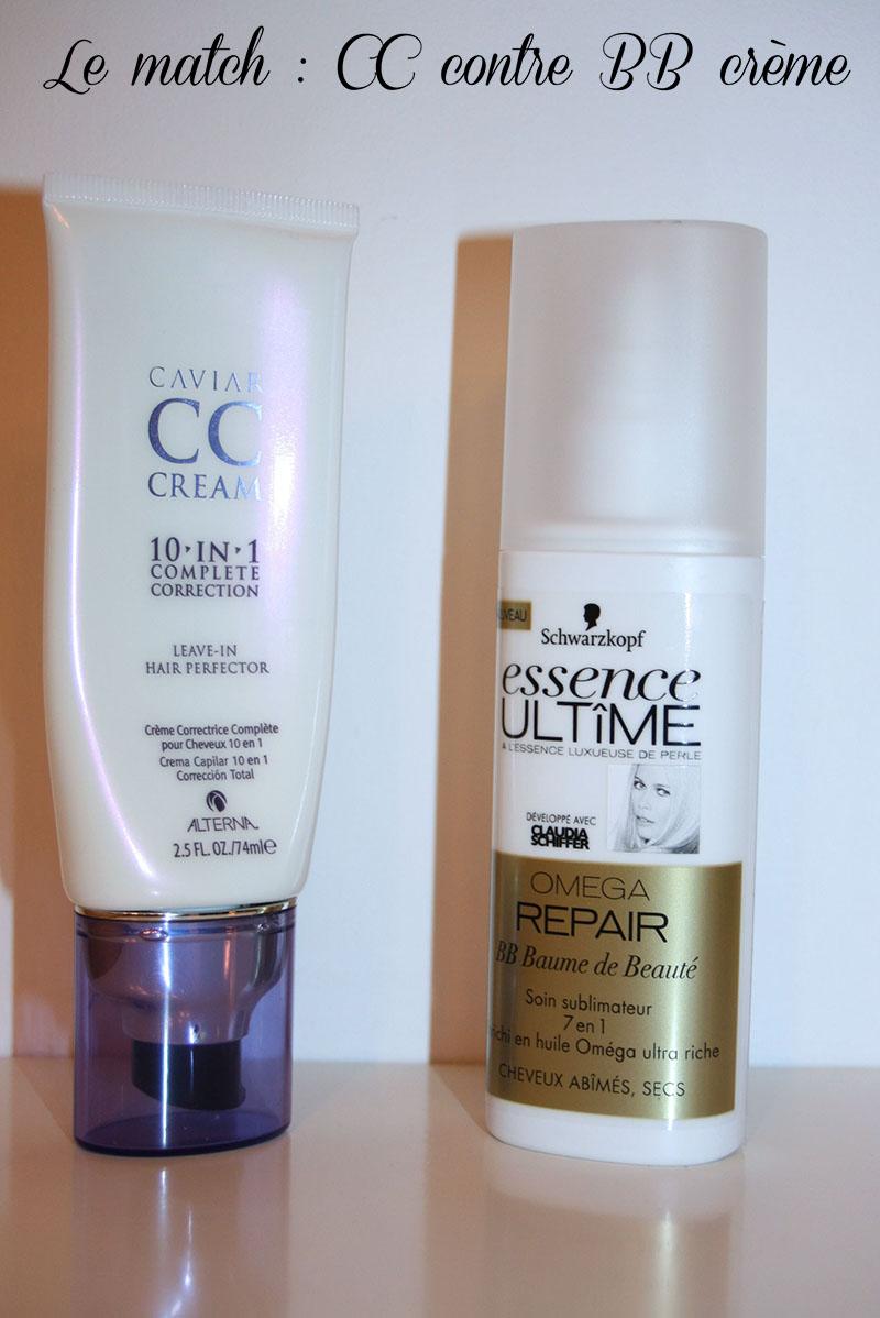 CC et BB crème capillaires