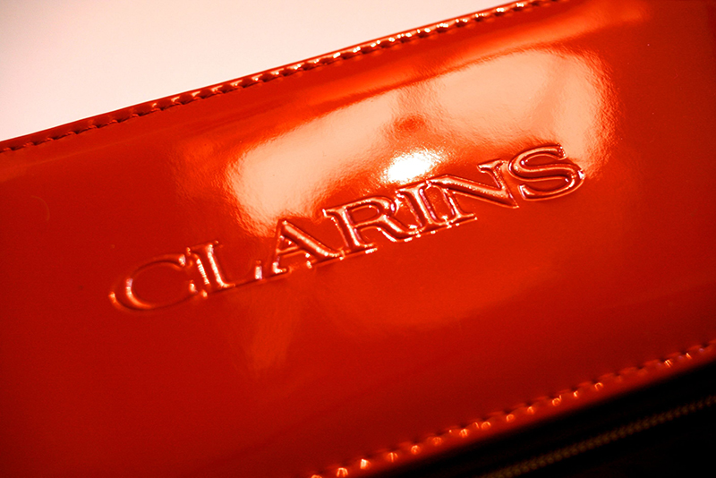 Palette all-in-one Clarins (rouge vinyl)