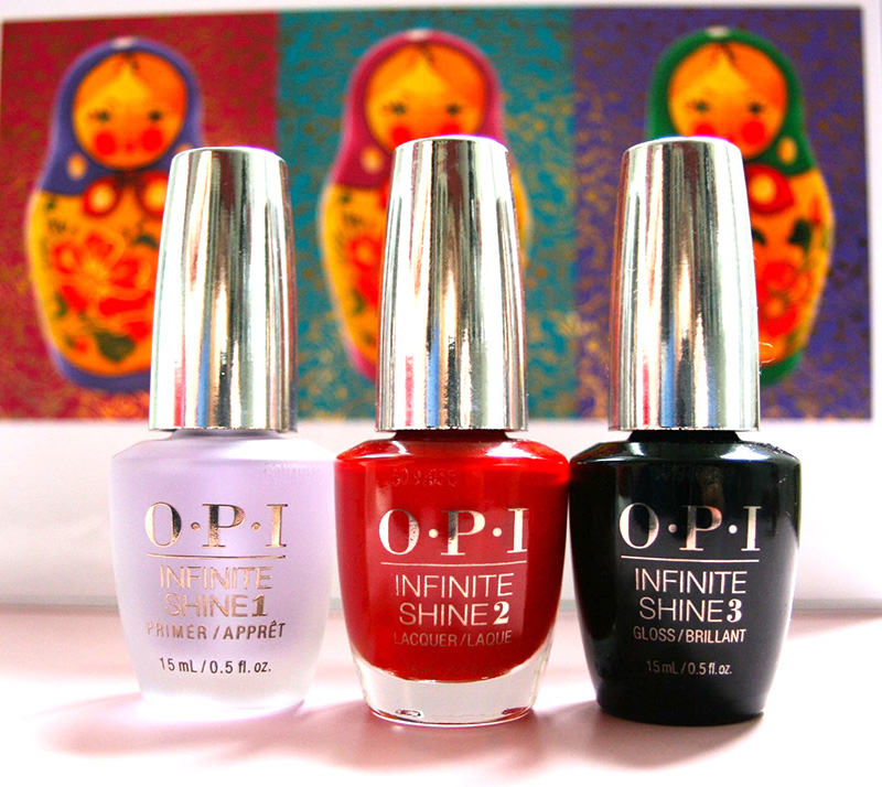 OPI infinite shine trio