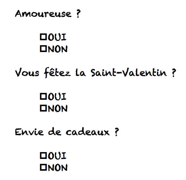 ♥ Sélection de cadeaux petits prix maxis effets pour la Saint-Valentin ♥♥