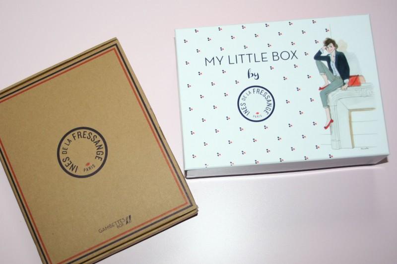 my little box gambettes box Inès de la Fressange