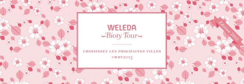 Le Weleda Bioty Tour 2015 cherche nouvelles villes pour cocooner