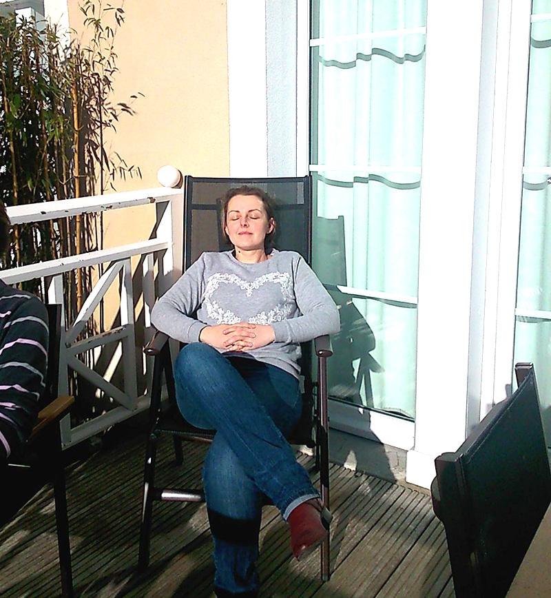 Evidemment, rien ne remplace une séance au soleil, même en plein hiver (ici lors de mon WE fin février en bord de mer)