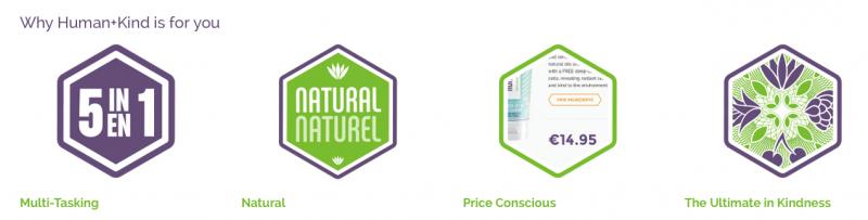Human+Kind, une nouvelle marque de soins naturels débarque chez Sephora