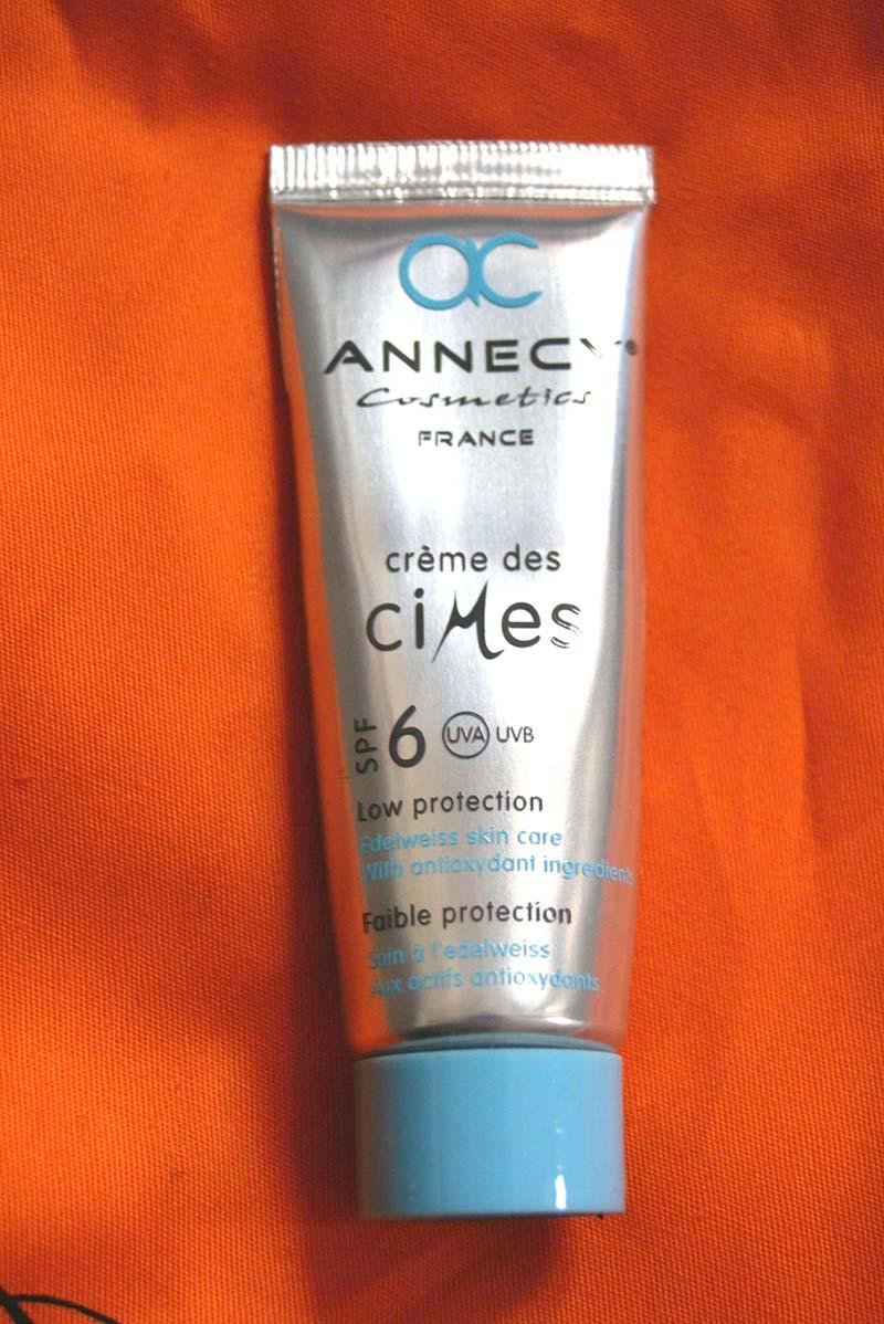 crème des cimes annecy cosmétics