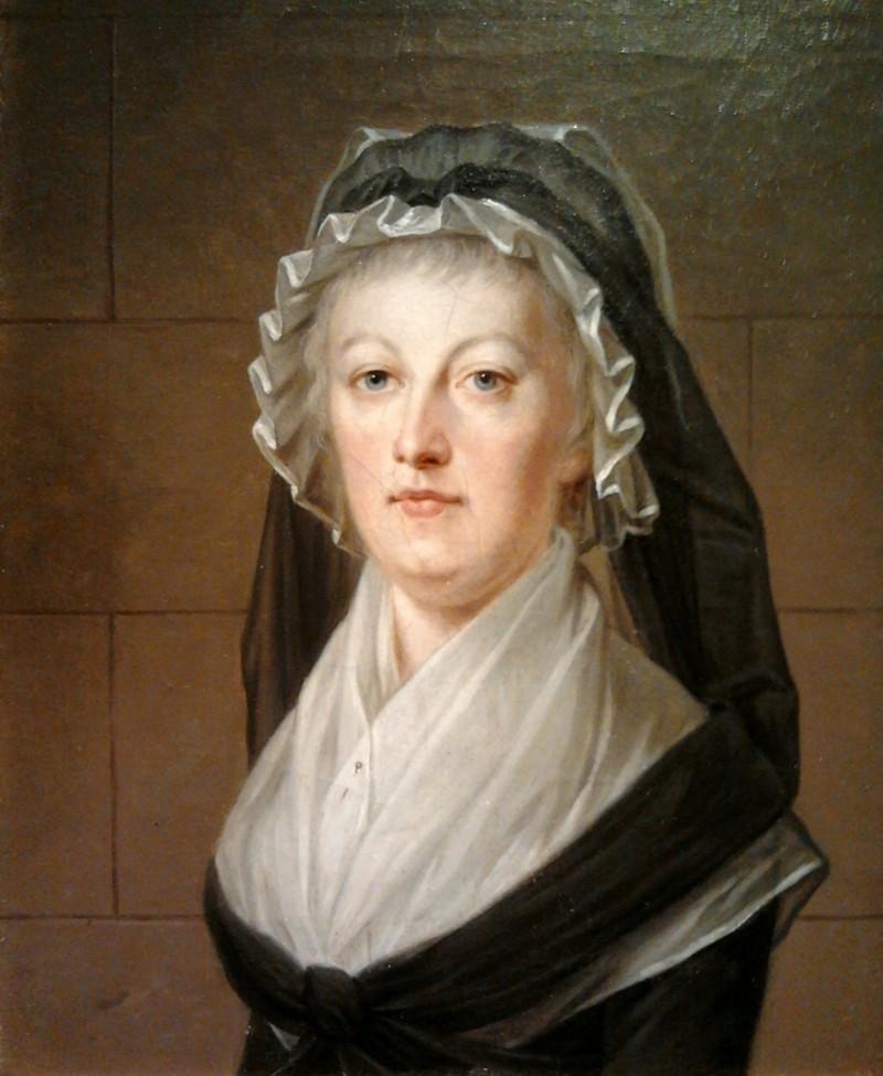 Marie-Antoinette après la Révolution, peinte par Kucharsky, à la prison du Temple