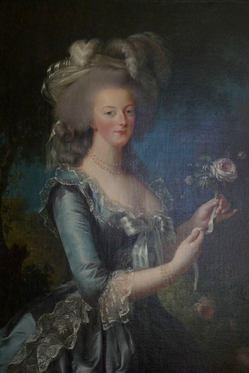 Marie-Antoinette peinte par  Élisabeth Vigée Le Brun
