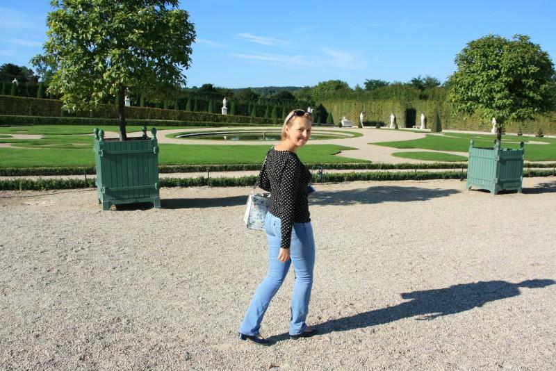 L'été dernier, balade au matin (sans monde) dans les jardins du château de Versailles