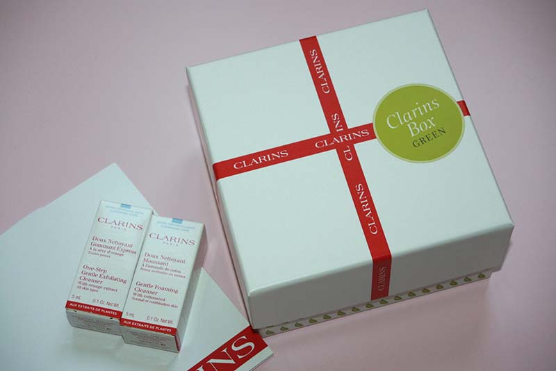 Clarins green box