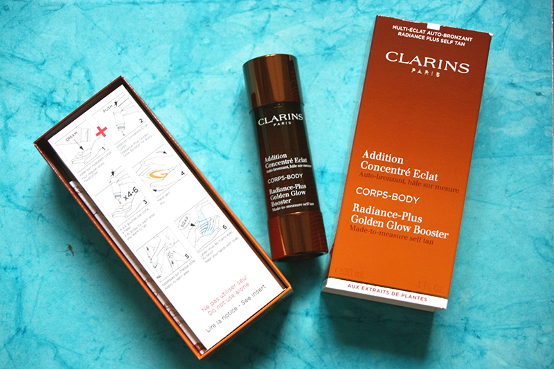 addition concentré éclat Clarins CORPS