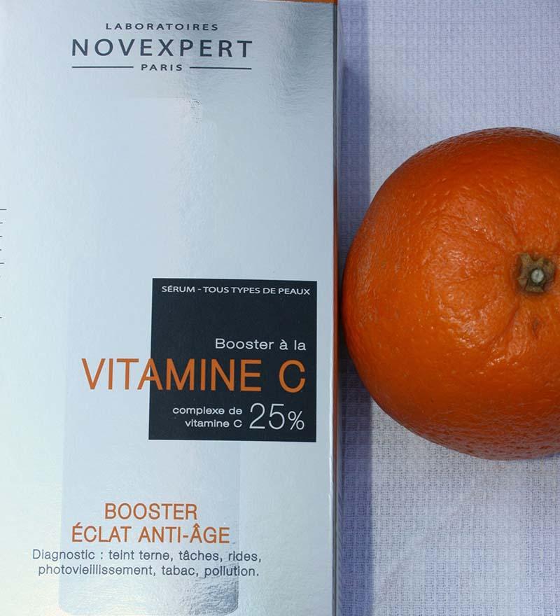 booster à la vitamine C novexpert