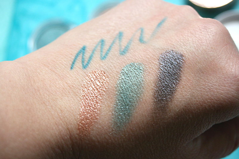 swatch ombre paupières clarins aquatic treasures