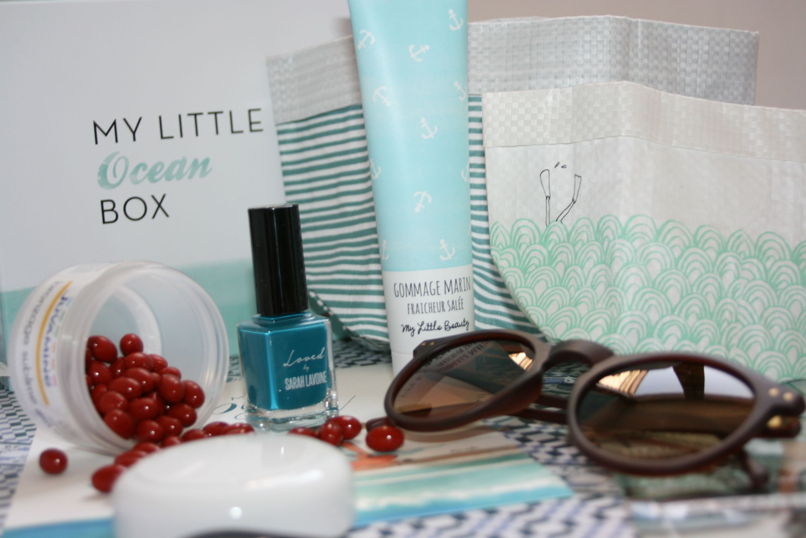 My Little Ocean Box : la box qui aspire aux vacances