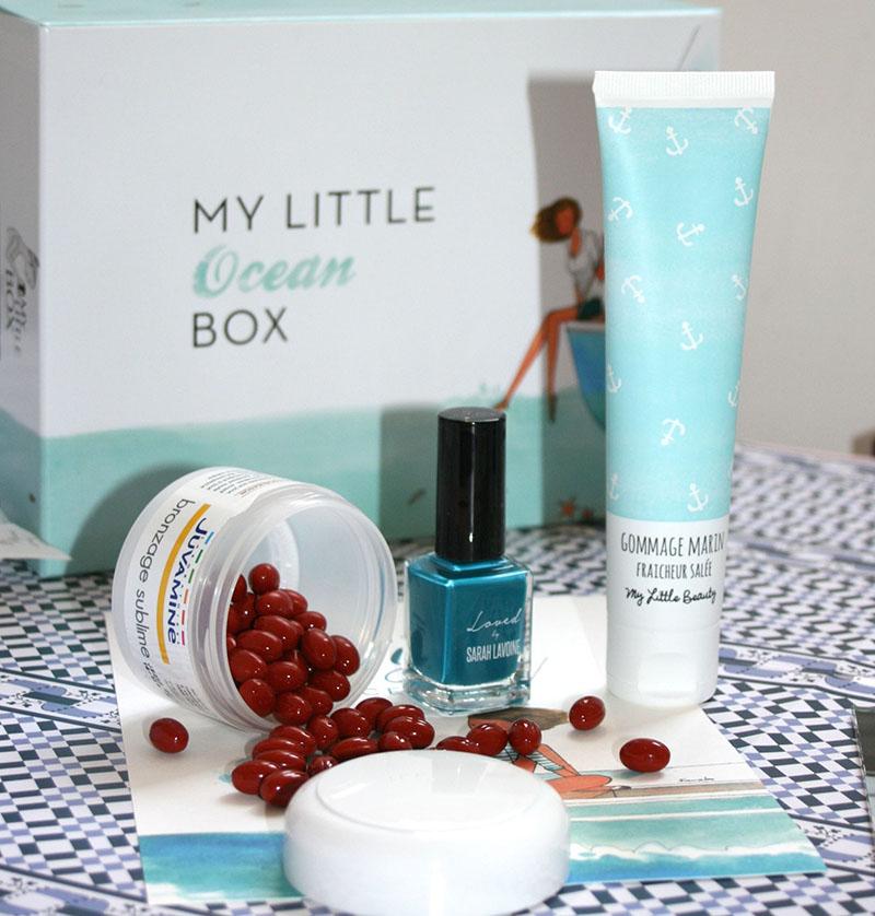 produits de beauté my little box