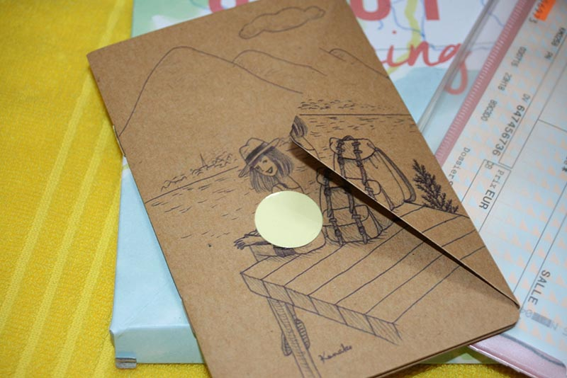 carnet de voyage bix X my little box