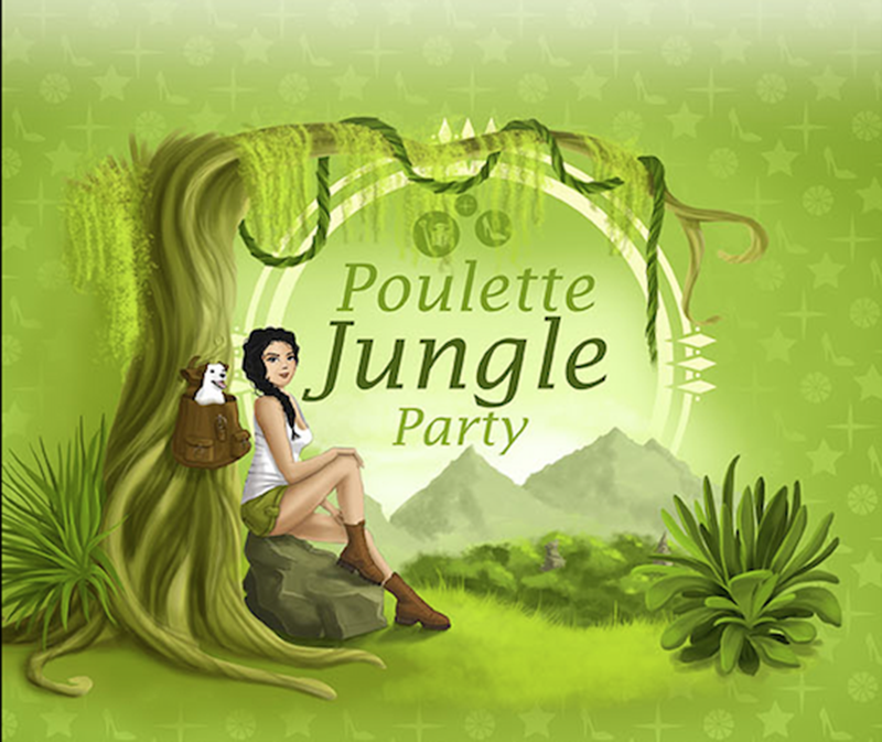 La Poulette Jungle Party & chouettes découvertes