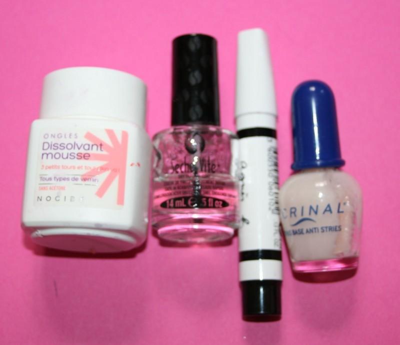 produits ongles terminés