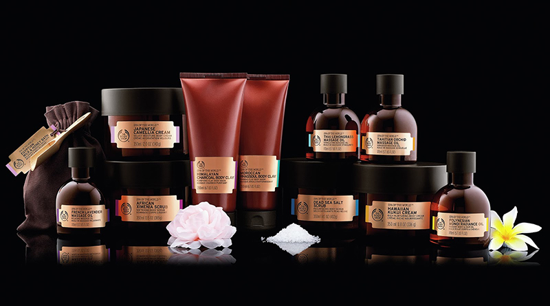 La gamme Spa of the world : welcome chez The Body Shop version luxe !