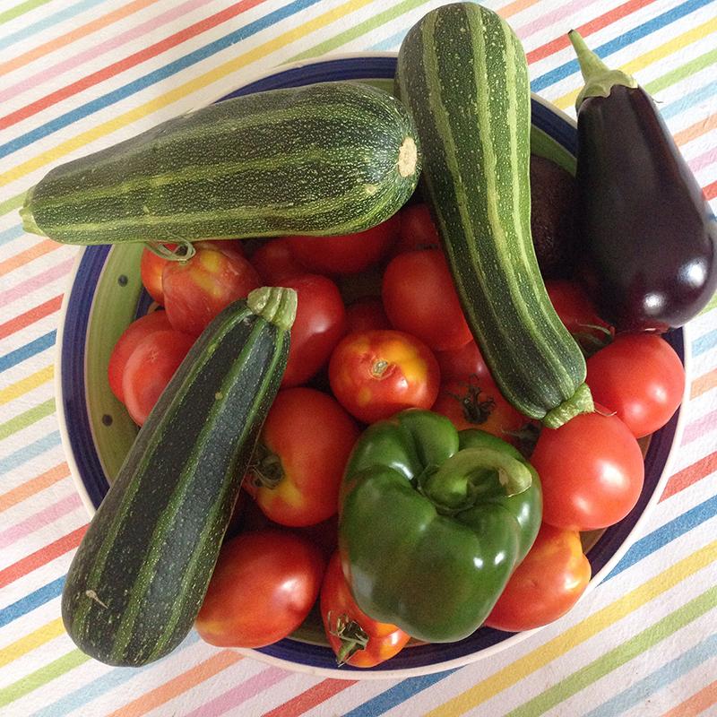 légumes du jardin