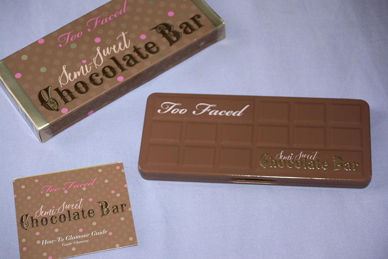 Too Faced et sa semi-sweet Chocolate Bar