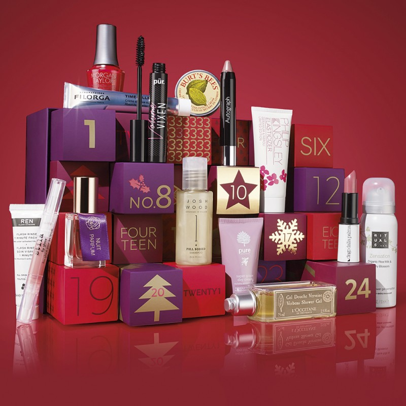 M&S beauty advent calendar