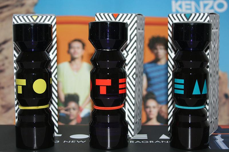Totem by Kenzo, un trio pour une fragrance mixte