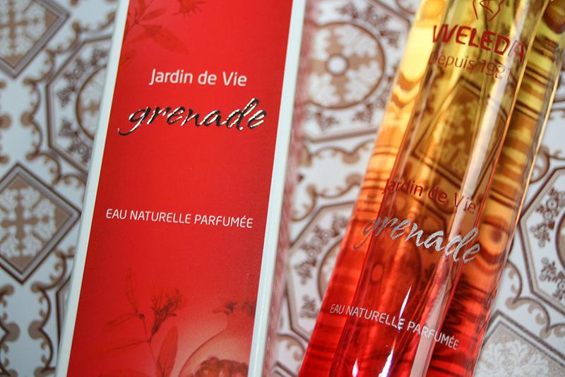 Jardin de Vie Grenade, le premier parfum Weleda