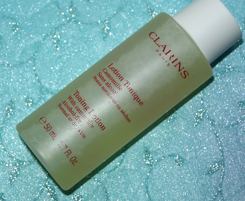 lotion tonique clarins camomille