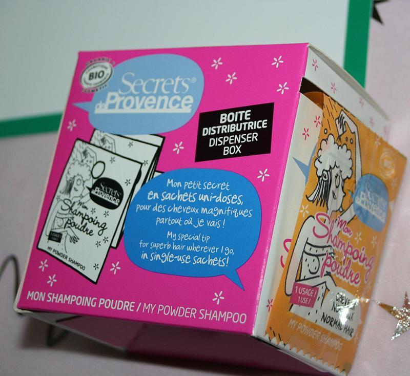 secrets de provence shampooing poudre