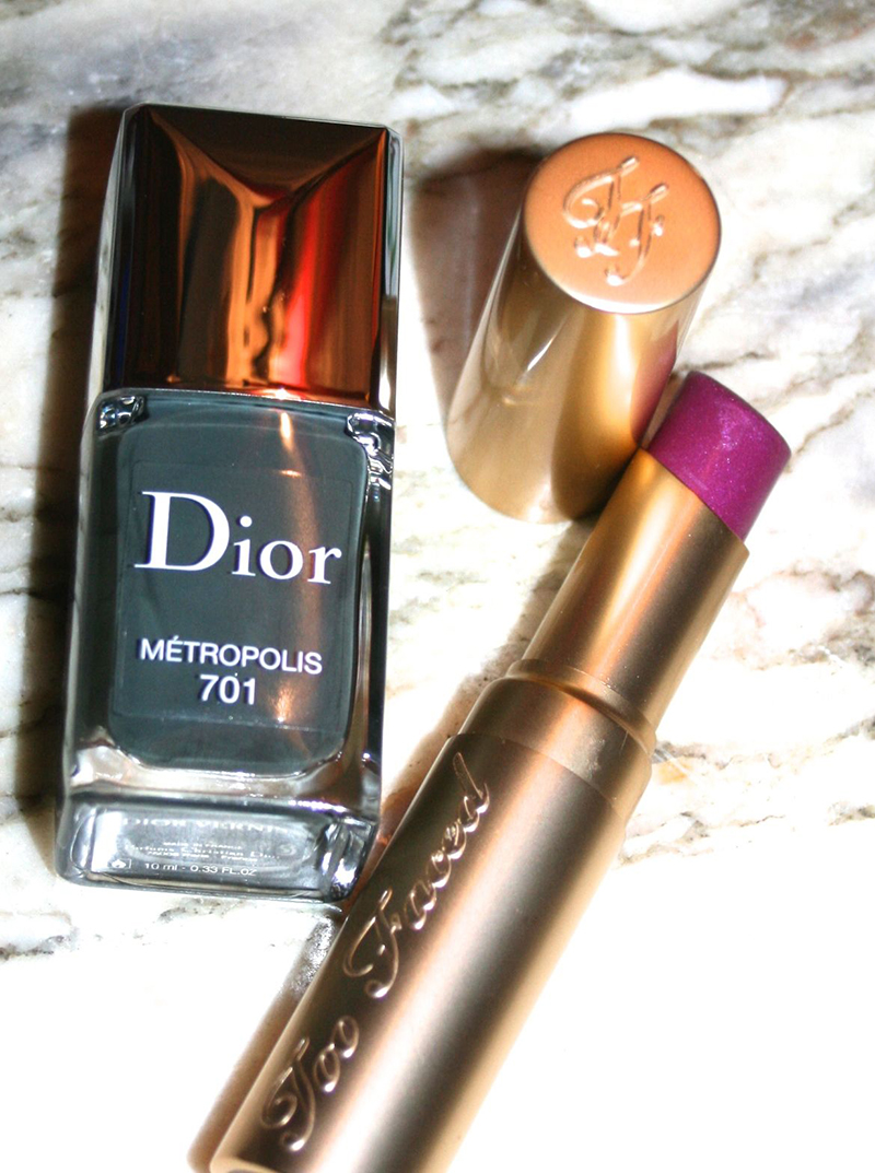dior metropolis et RàL Too faced