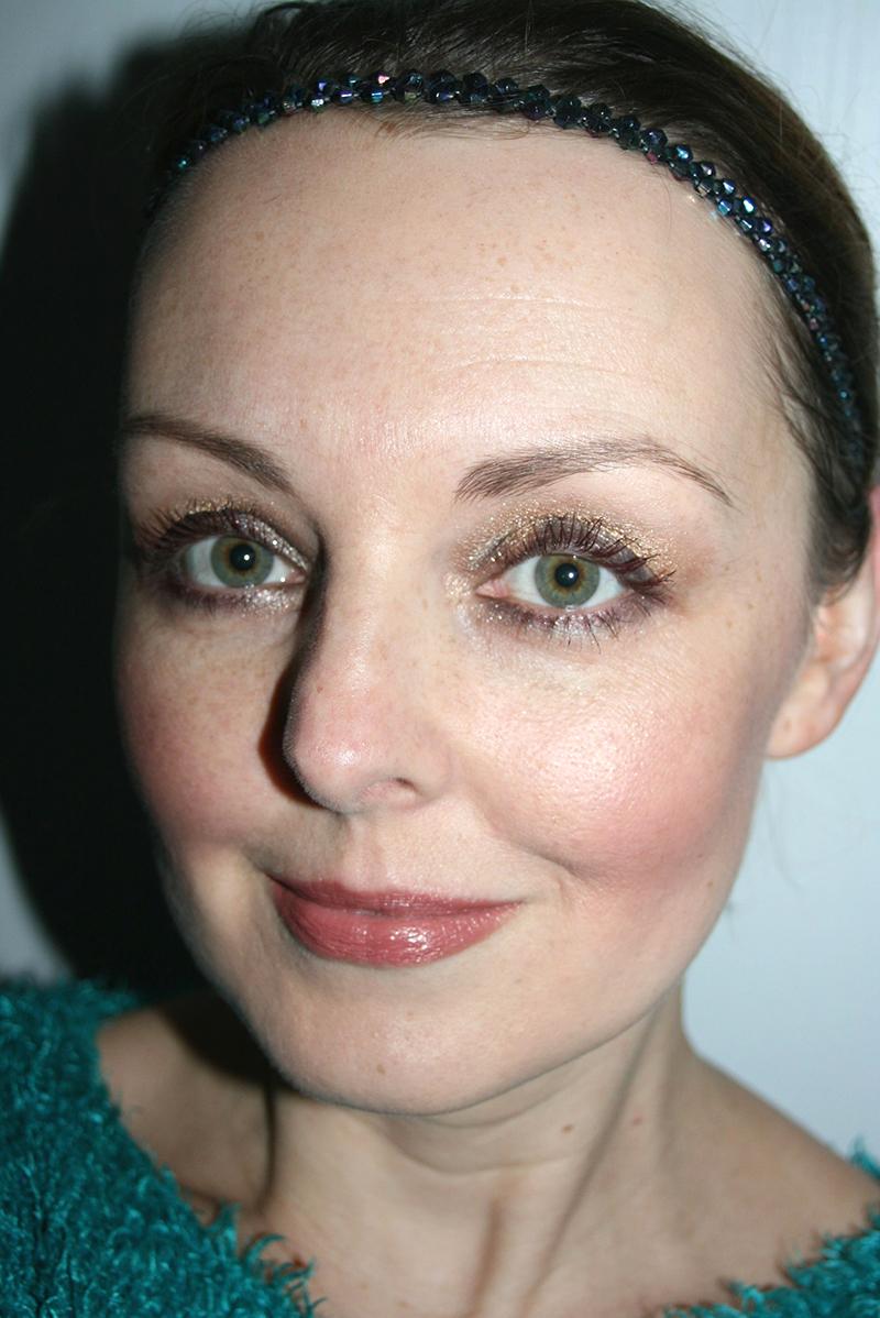 maquillage de fêtes avec sleek
