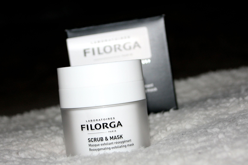 scrub and mask FILORGA
