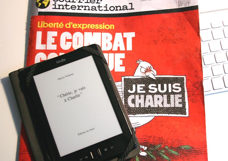 [Lecture] Chérie, je vais à Charlie, Maryse Wolinski