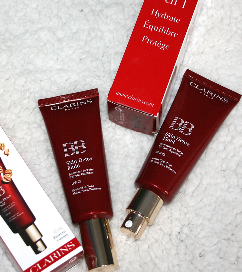 BB skin detox fluid clarins