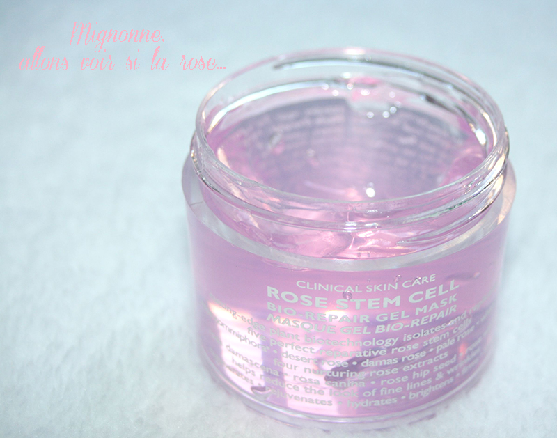 masque à la rose peter Thomas Roth
