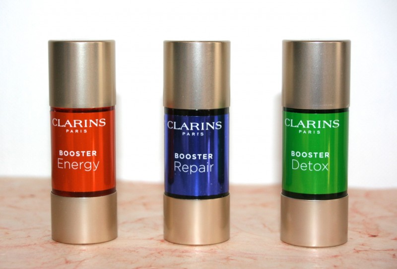 Les boosters Clarins pour upgrader ses soins…