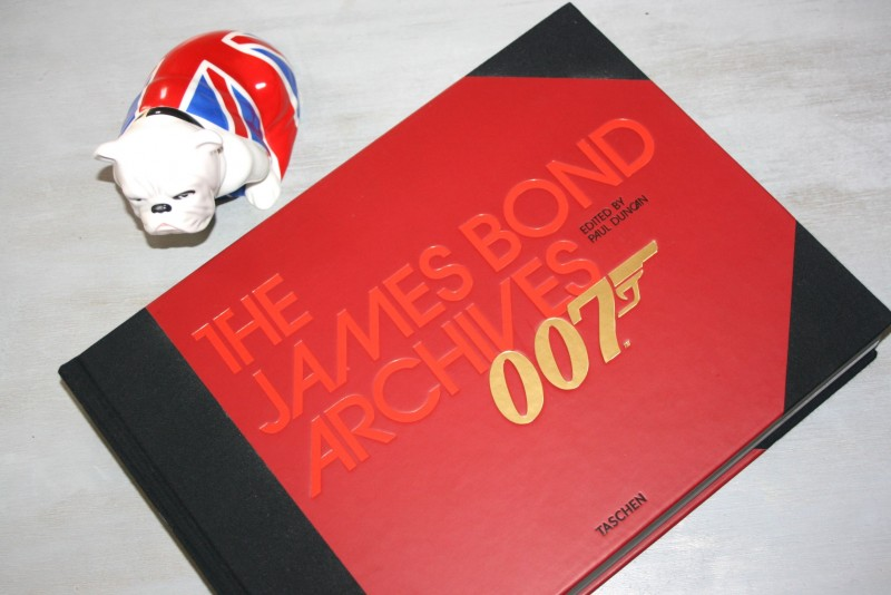 [Lecture – Cinéma] The James Bond Archives 007 (Taschen)